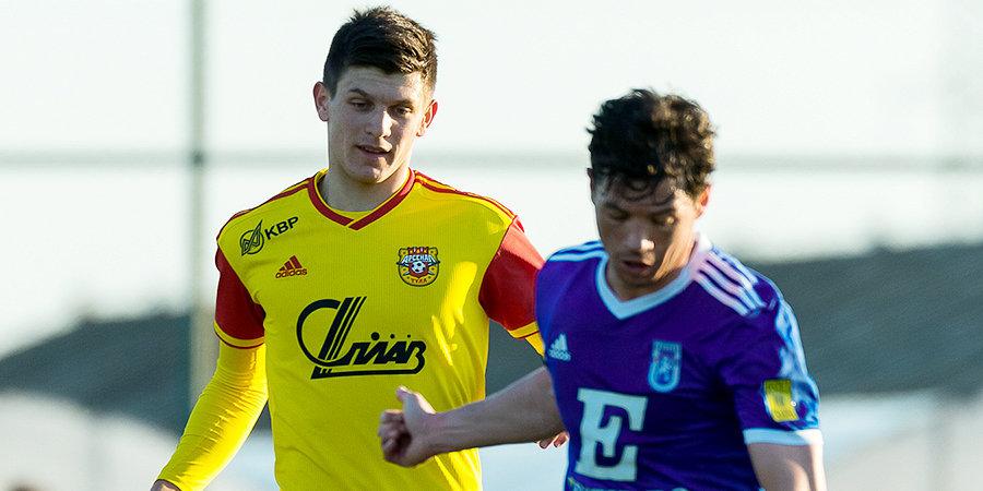 19-летний хавбек «Арсенала», ездивший на просмотр в «Порту», забил первый мяч в РПЛ