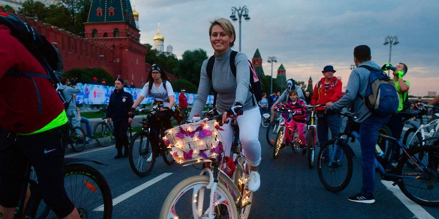В Москве велосипедисты обновили рекорд Гиннесса. Как это было