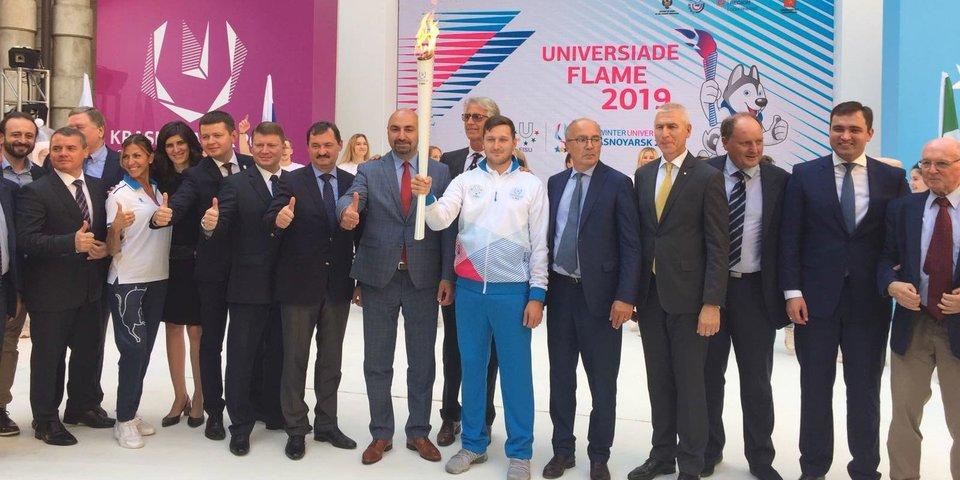 Олег Матыцин: «Пламя Универсиады-2019 символизирует единство и дружбу между студентами всего мира»