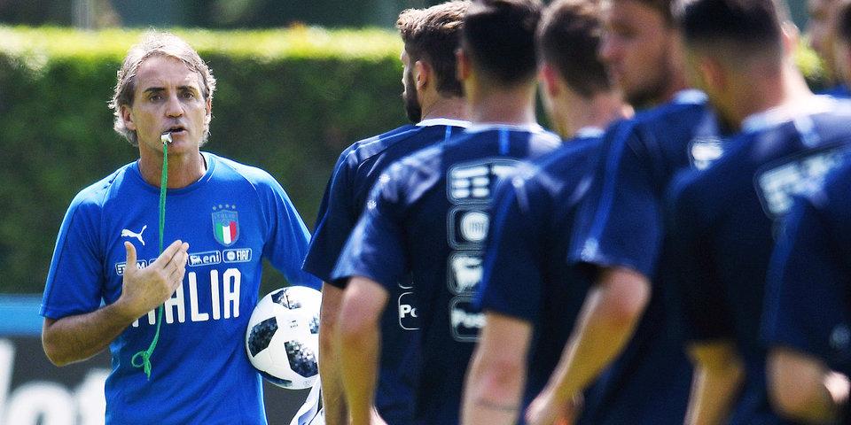 Официально: Манчини продлил контракт со сборной Италии
