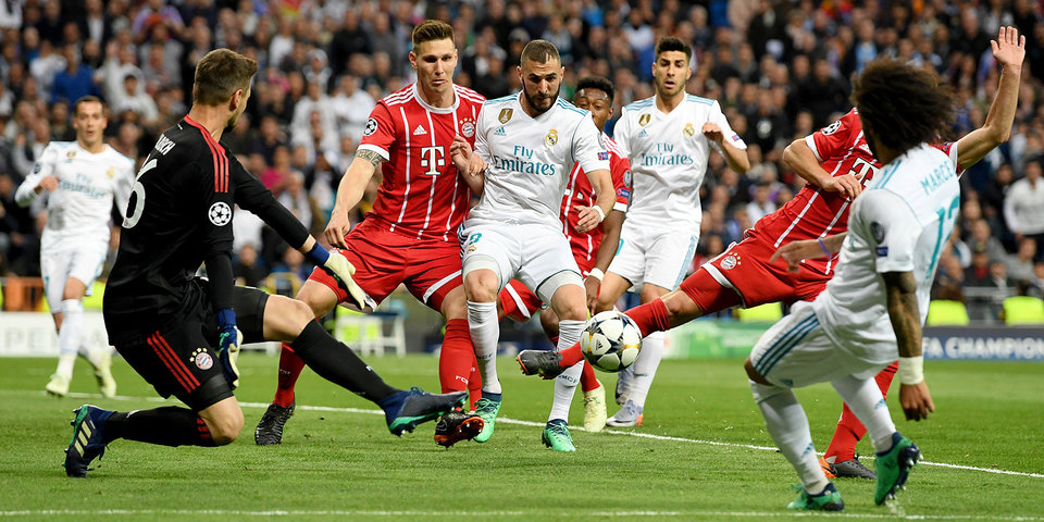 Дубль Бензема в ворота «Баварии» вывел «Реал» в финал Лиги чемпионов