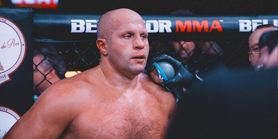 Федор Емельяненко: «На мой взгляд, Бэйдер — это лучший боец в этом турнире»