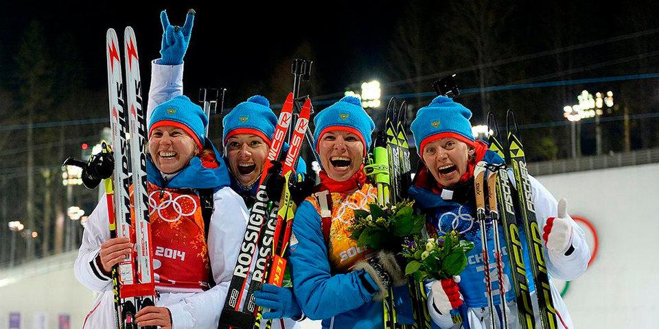 Чешская биатлонистка рада решению МОК по Вилухиной и Романовой