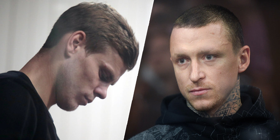 Мосгорсуд отклонил кассационные жалобы на арест Кокорина и Мамаева
