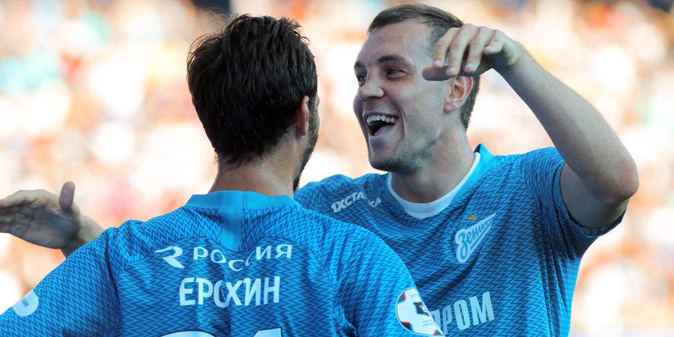 Стали известны стартовые составы «Зенита» и«Локомотива» наматч восьмого тура РПЛ