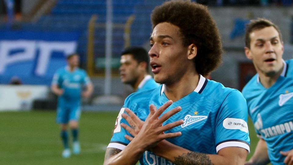 Аксель Витсель: «Если вернусь в Россию, то только в «Зенит»