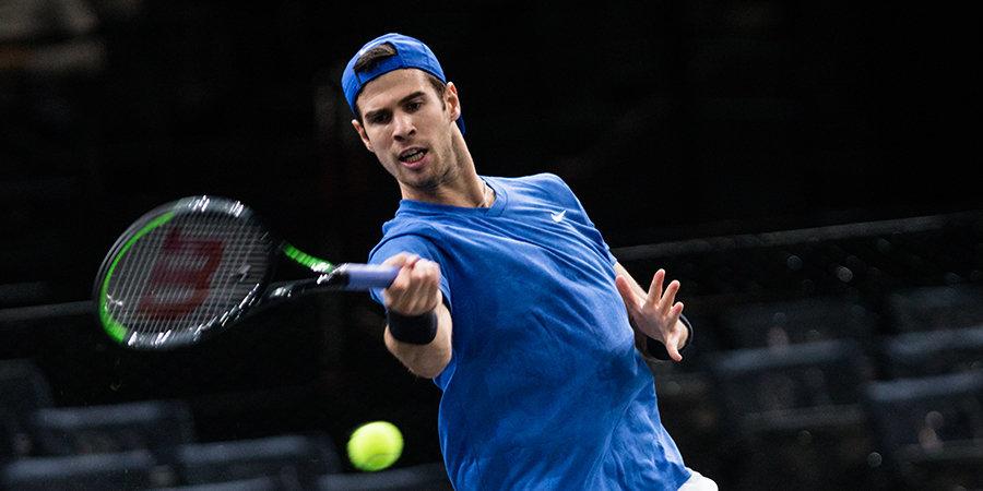 Хачанов завершил борьбу на Australian Open
