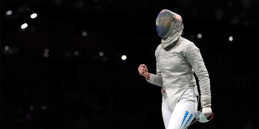 Тренер фехтовальщицы сделал ей предложение в прямом эфире на Олимпиаде. Девушка согласилась