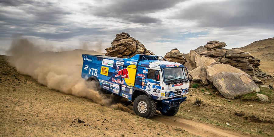 Шибалов стал победителем ралли «Шелковый путь» в зачете грузовиков