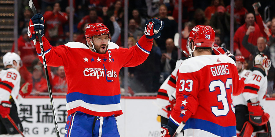 Овечкин вошел в десятку лучших снайперов в истории НХЛ
