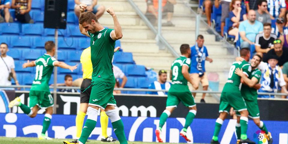 «Леганес» вышел на третье место в чемпионате Испании