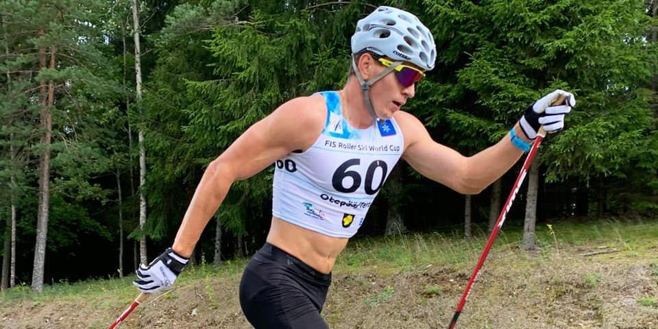 Большунов победил в индивидуальной гонке на этапе КМ, Червоткин — второй