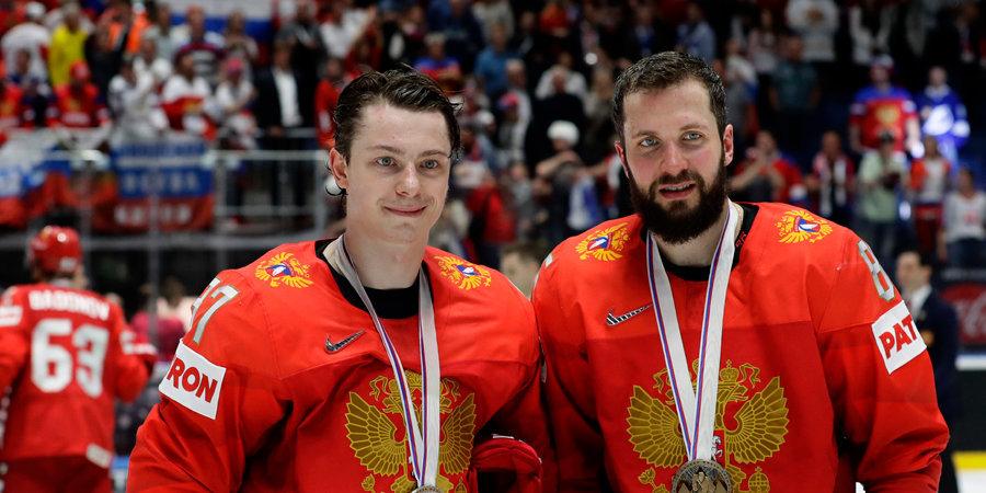 Сборная России завоевала бронзовые медали чемпионата мира