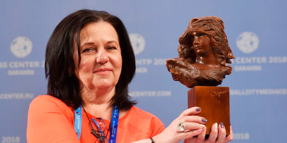 Мордовский музей подарил Месси скульптуру