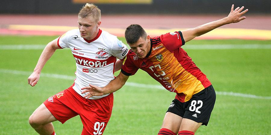 Хлусевич — лучший игрок матча «Арсенал» — «Спартак»