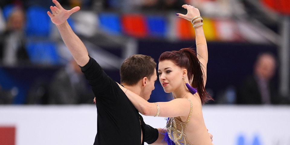 Российские фигуристы Боброва и Соловьев стали третьими в коротком танце в командном турнире на ОИ