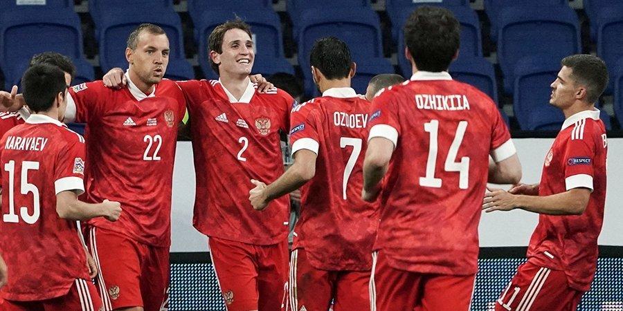 Россия сыграет с Хорватией, Словакией и Словенией в отборе к ЧМ-2022