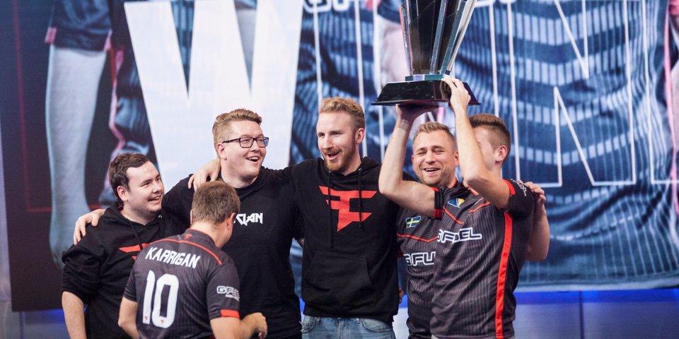 CS:GO: FaZe Clan — Чемпионы ELEAGUE Premier 2017