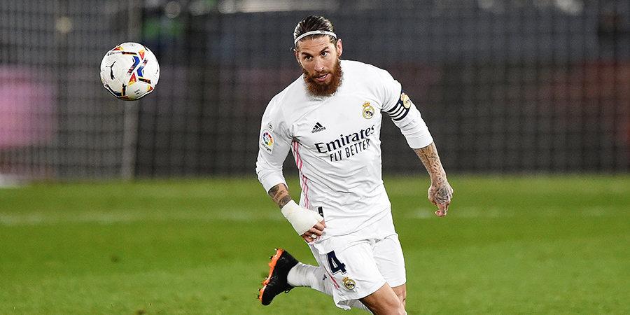 Рамос приступил к тренировкам в общей группе «Реала»