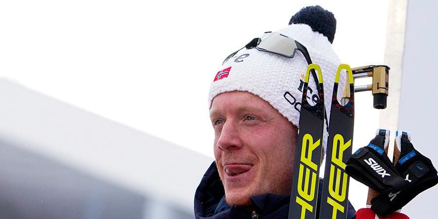 Норвежец Бе рассказал о реакции на шуточный коллаж с Логиновым