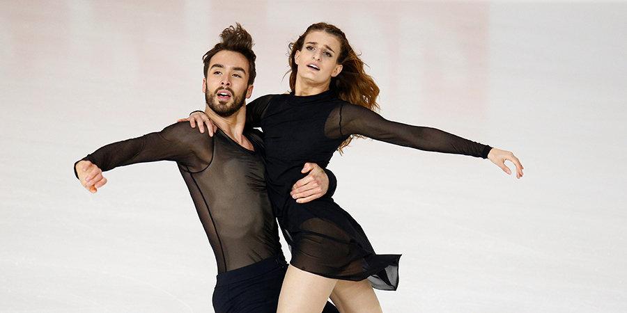 Французы Пападакис и Сизерон победили в финале Гран-при, российские дуэты не попали в призы