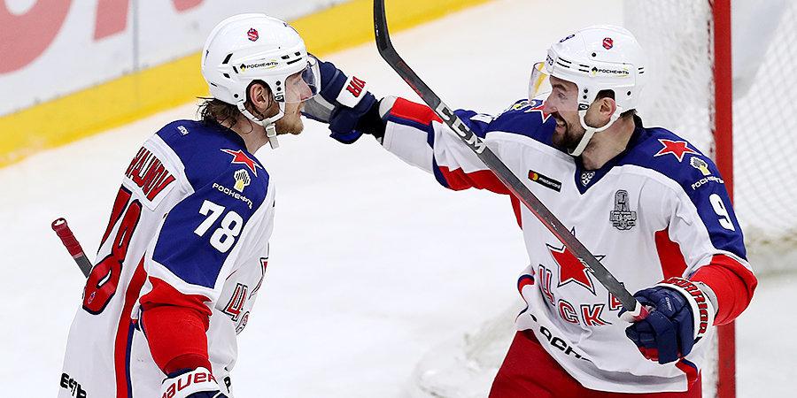 ЦСКА одержал победу над СКА в шестом матче и вышел в финал Кубка Гагарина