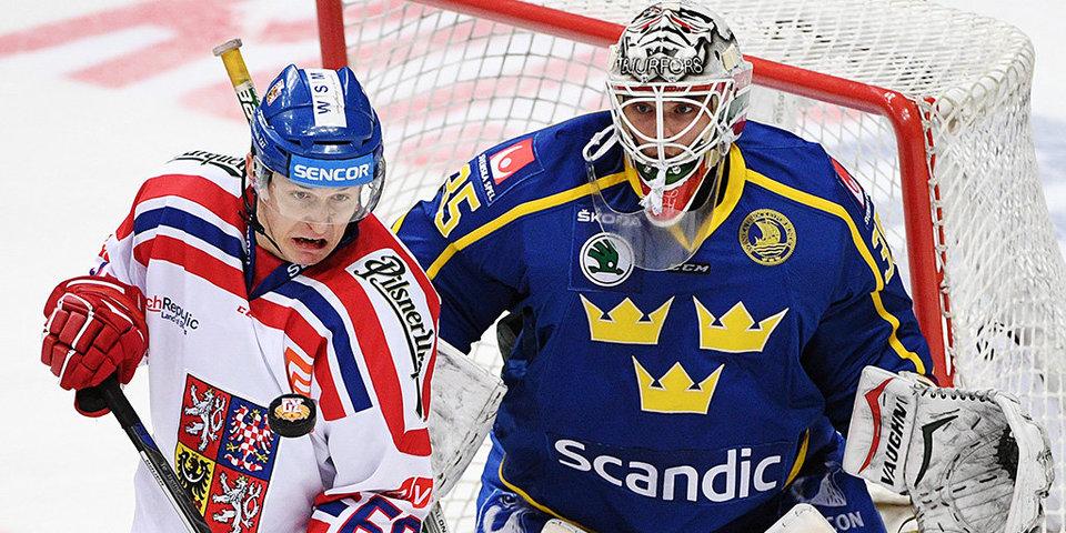 Еврохоккейтур. Чешские игры. Чехия - Швеция