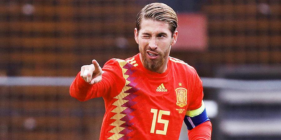 Рамос побил рекорд по числу матчей за сборную среди европейцев