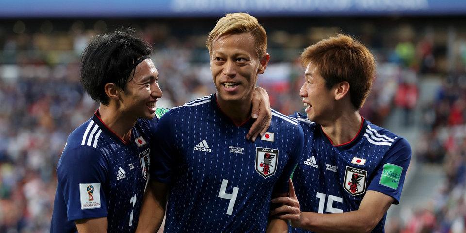 Хонда спас Японию от первого поражения на чемпионате мира в России