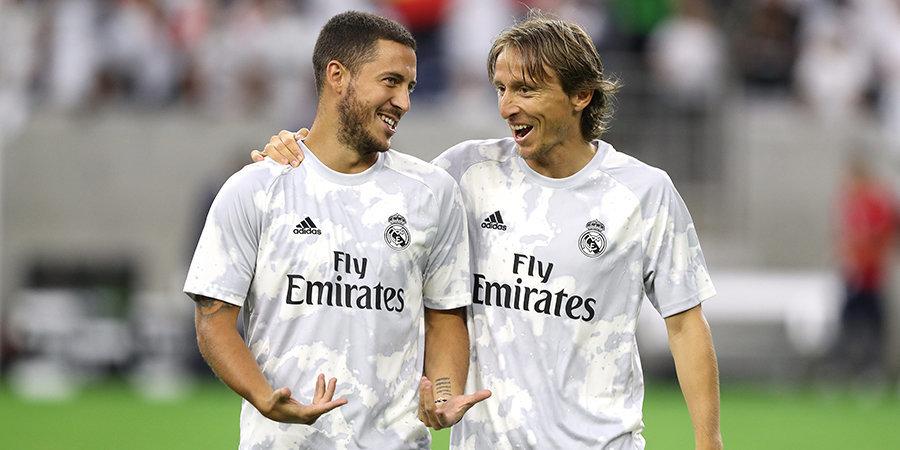 Азар вернулся в заявку «Реала» и отправится с командой в Менхенгладбах