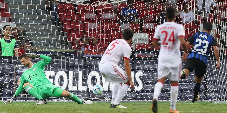 Спаллетти показывает, как будет пропускать «Бавария» в новом сезоне