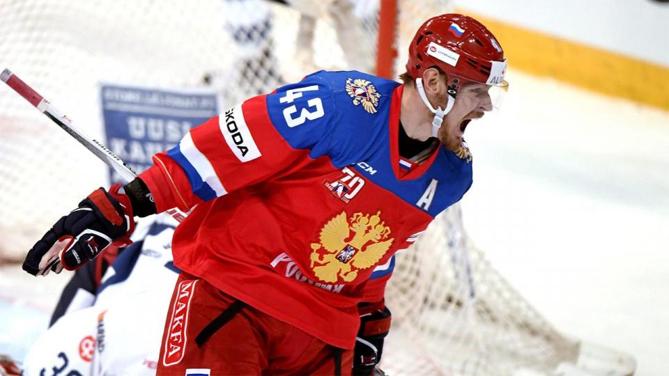 Гол Ничушкина в меньшинстве помог России добиться второй победы на «Кубке Карьяла»