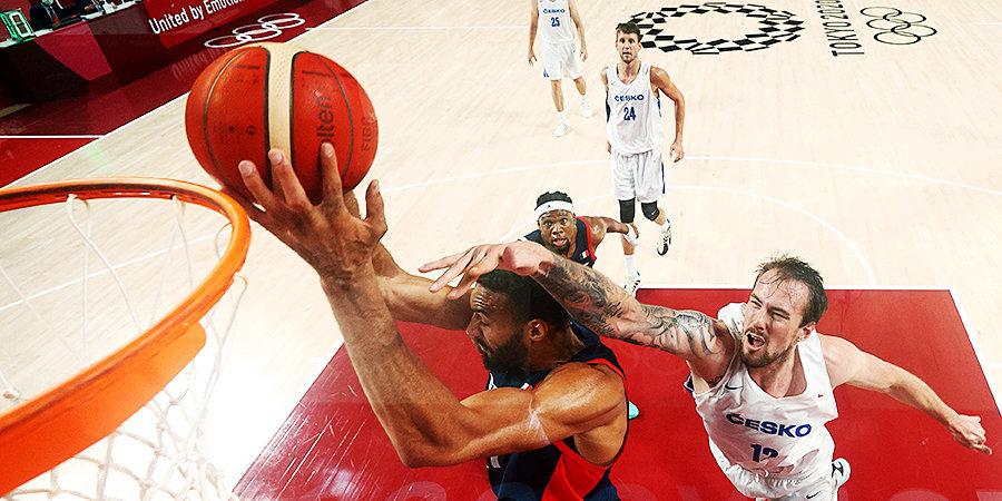 Сборная Франции обыграла Чехию на групповом этапе Олимпиады