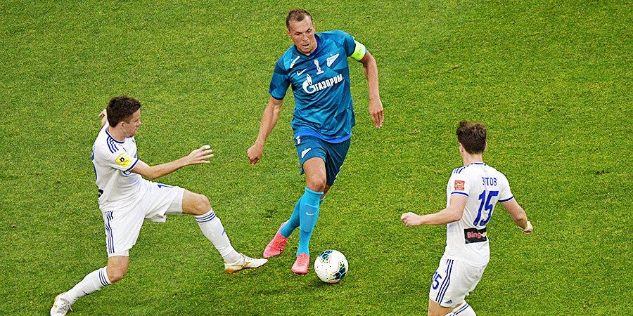 «Оренбург» проиграл «Зениту», забив в свои ворота, и лишился шансов уйти с последнего места в РПЛ