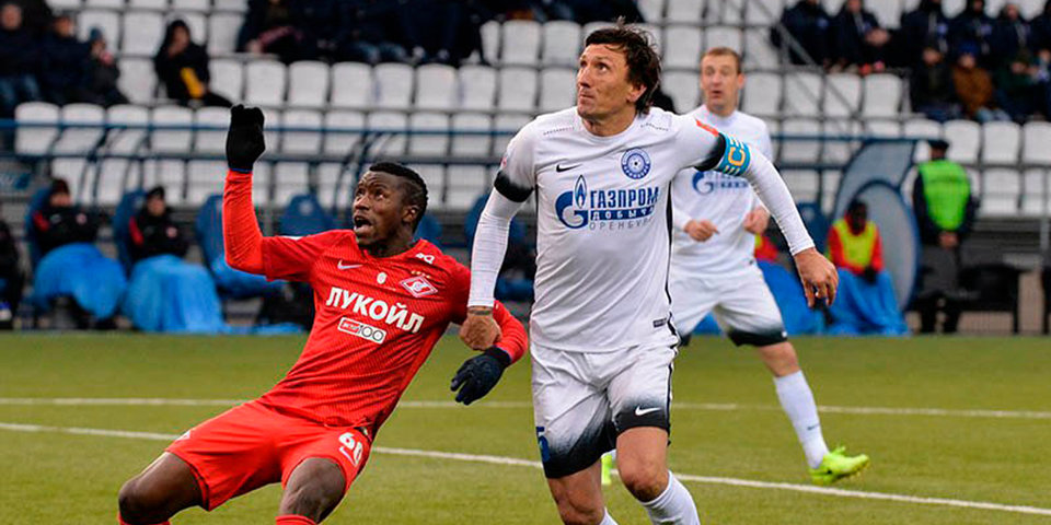 Андреев – лучший футболист ФНЛ в октябре