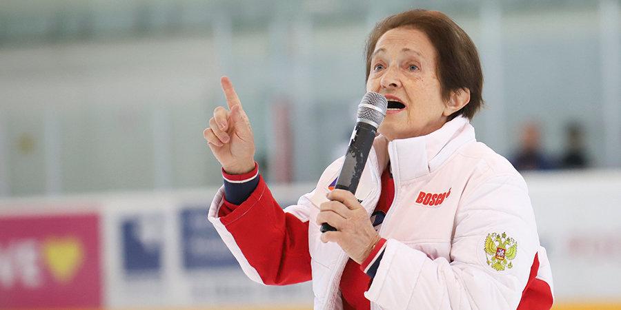 Тамара Москвина: «Хотелось бы избежать ситуации, в которой мои спортсмены будут отнимать места друг у друга»