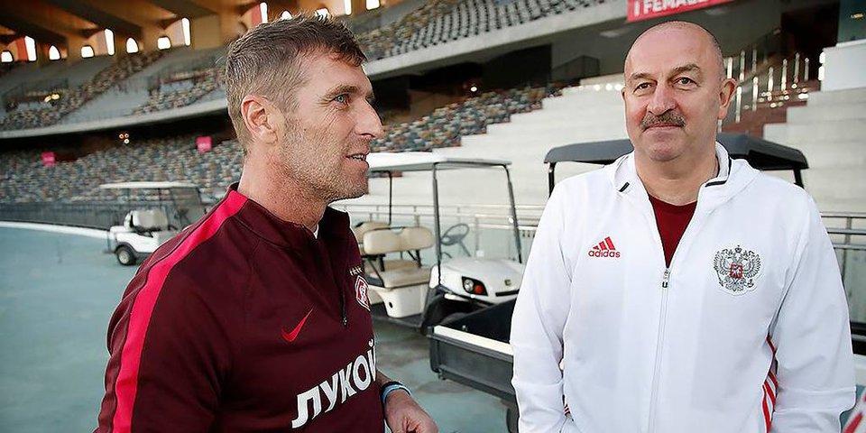 Что увидел Черчесов в матче «Спартака» и «Копенгагена»?