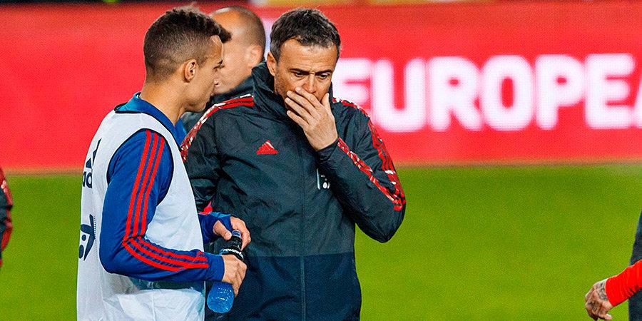 Луис Энрике вернулся в сборную Испании. Дело обернулось пиар-катастрофой