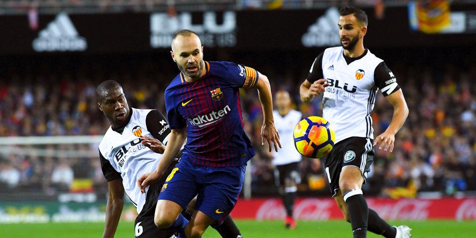 «Барселона» избежала первого поражения в чемпионате Испании