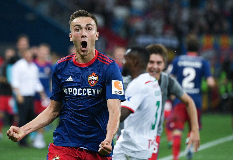 Хосонов и Кучаев приступили к тренировкам в общей группе ЦСКА