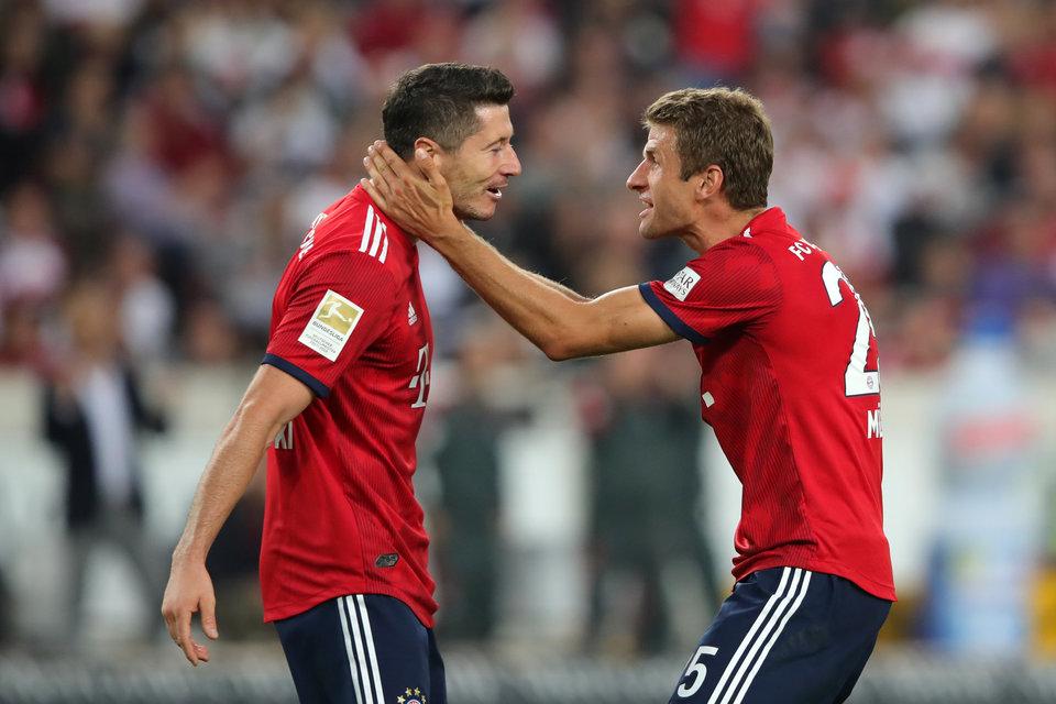 «Бавария» в гостях обыграла «Бенфику», «Манчестер Сити» дома уступил «Лиону»