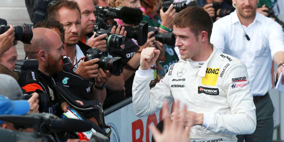 Ди Реста выиграл первую гонку ДТМ в Будапеште, стартовав 13-м