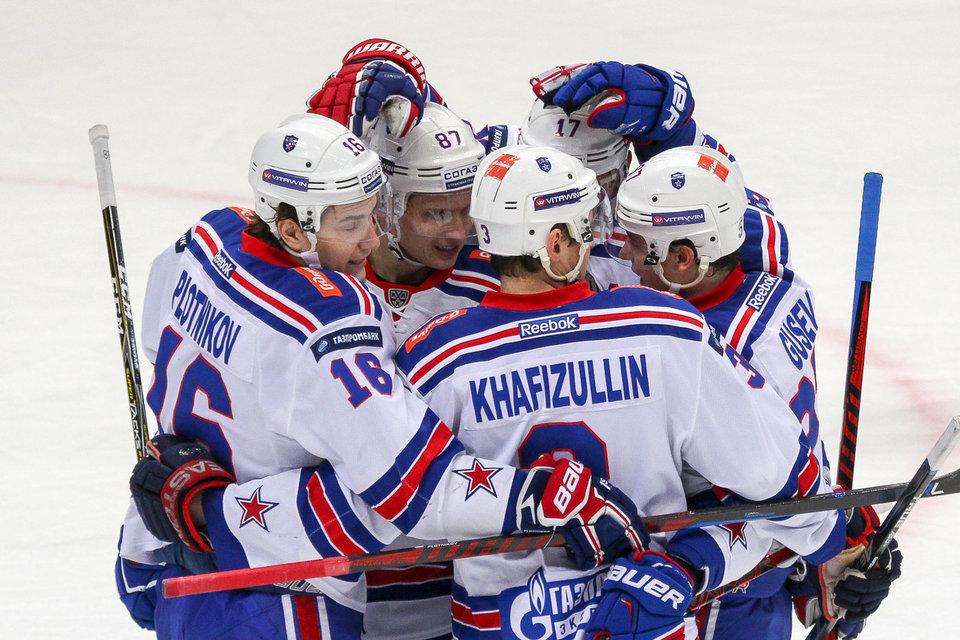 Петербургский СКА преждевременно одержал победу Кубок материка
