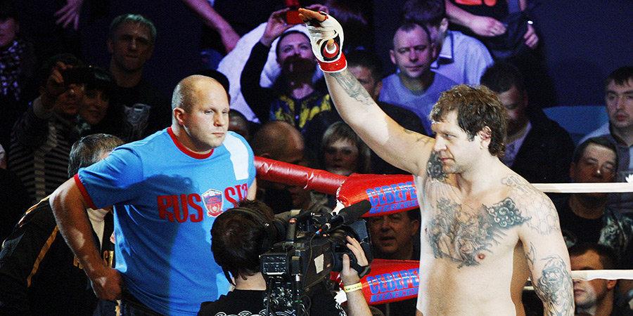 Александр Емельяненко назвал лучшего тяжеловеса в истории MMA