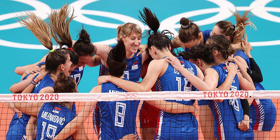 Волейболистки Польши и Сербии вышли в четвертьфинал ЧЕ