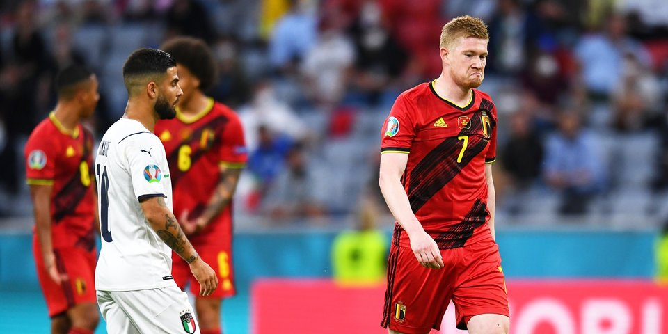 Кевин Де Брюйне: «Мы просто Бельгия. У Италии, Франции и Испании есть 22 топовых игрока, а у нас нет»