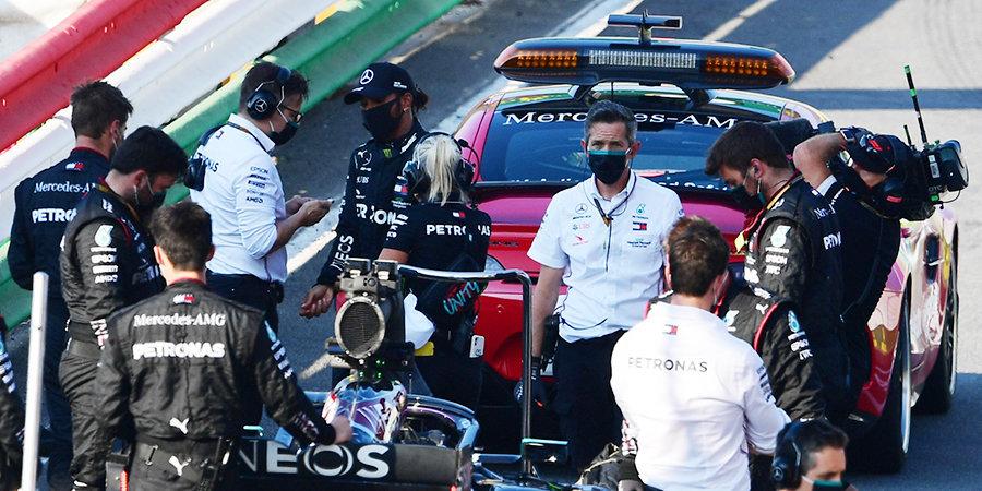Гонку Гран-при Тосканы дважды останавливали красными флагами