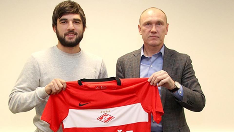 Джикия подписал контракт со «Спартаком»