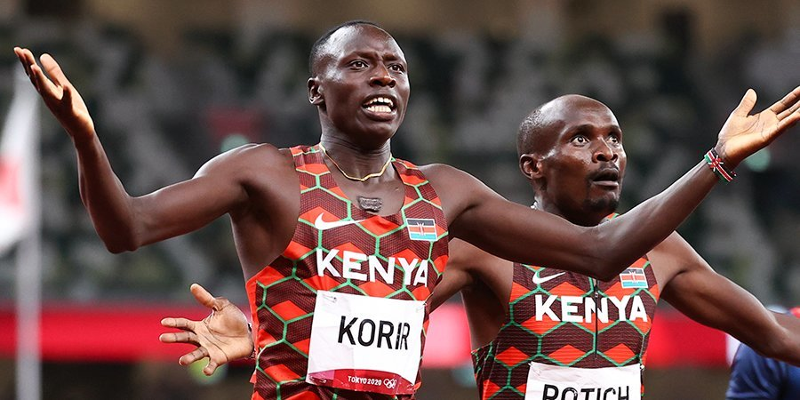 Корир стал олимпийским чемпионом Токио в беге на 800 метров