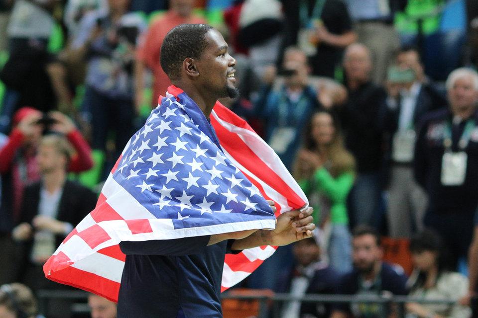 Дюрант готов сыграть за США на Олимпиаде